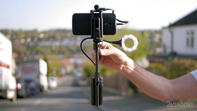MiniRIG - реальная помощь в мобильной съемке (6 фото)