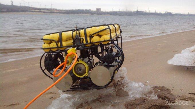 Российский подводный робот поставил рекорд на Байкале (5 фото + видео)
