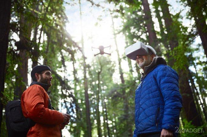 DJI Goggles позволяют увидеть мир глазами летящей птицы (9 фото + 2 видео)