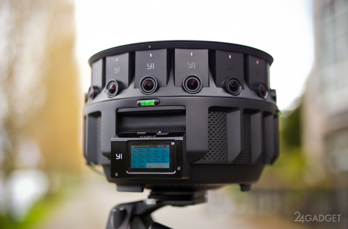 YI Halo - панорамная стереокамера для Google Jump (7 фото + видео)