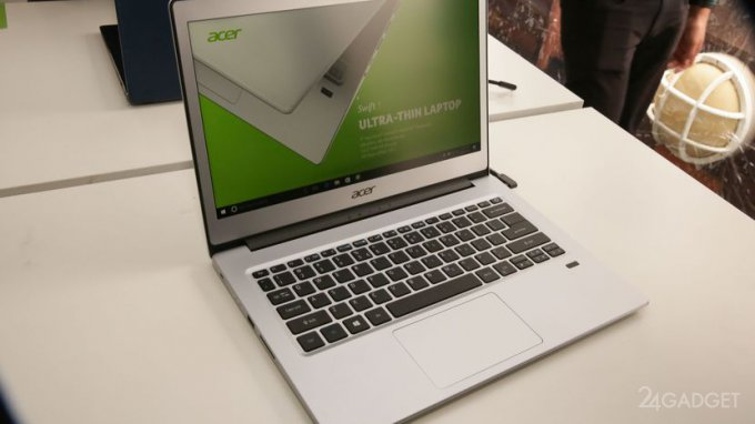 Нетбуки от Acer продержатся без подзарядки до 10 часов (8 фото)