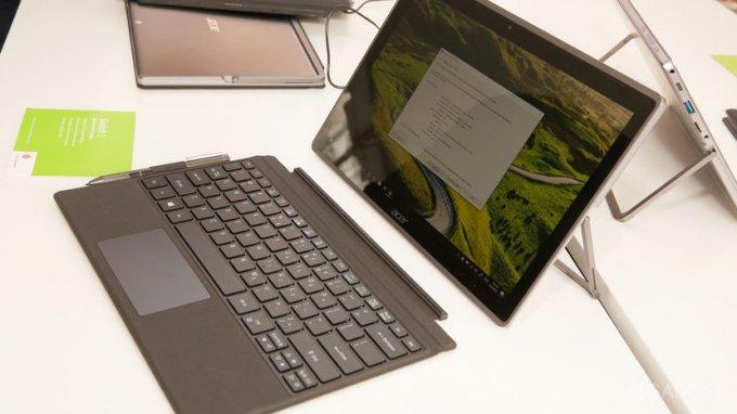Acer Switch 5 — планшет-трансформер с пассивной системой охлаждения (9 фото + видео)
