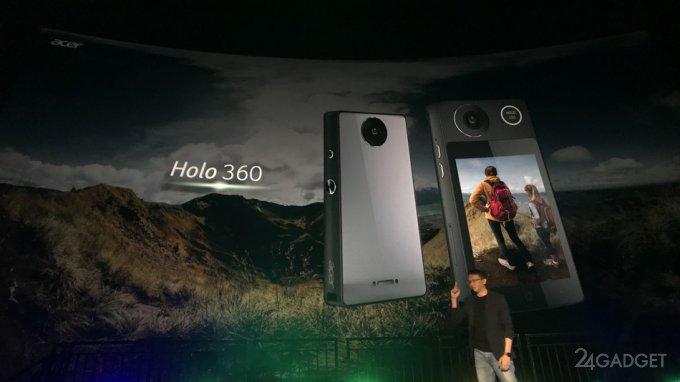 Новинки Acer — камера Holo 360 и смарт-часы Leap Ware (10 фото)