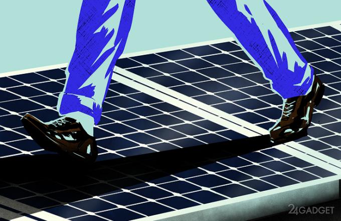 В Канаде появится тротуар из солнечных панелей (5 фото + видео)