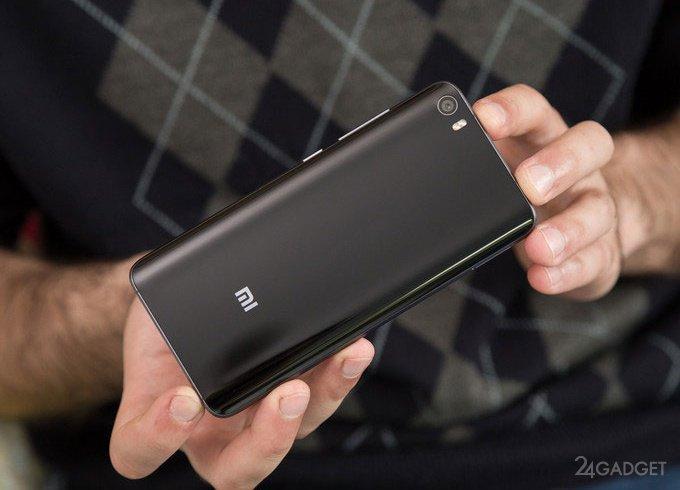 Xiaomi Mi6 успешно пережил огонь, нож и сгибание (видео)