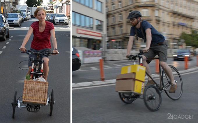 TReGo — велосипед со съёмной тележкой (16 фото + видео)