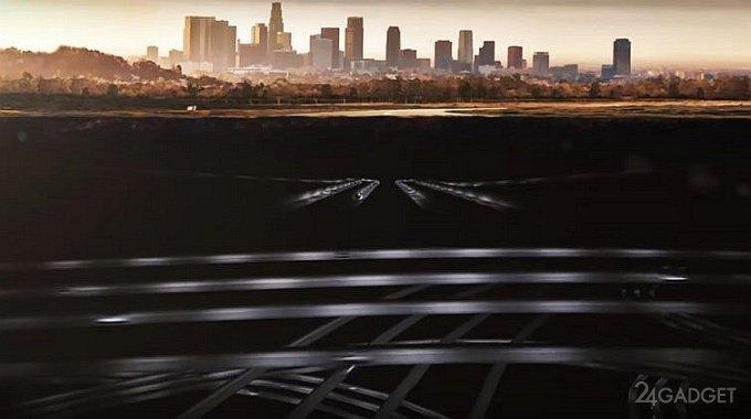 Илон Маск показал испытания в подземном автомобильном тоннеле (6 фото + видео)