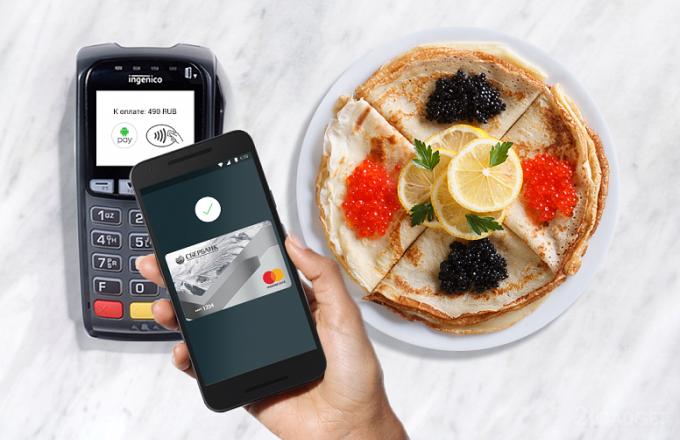 В России заработал платежный сервис Android Pay