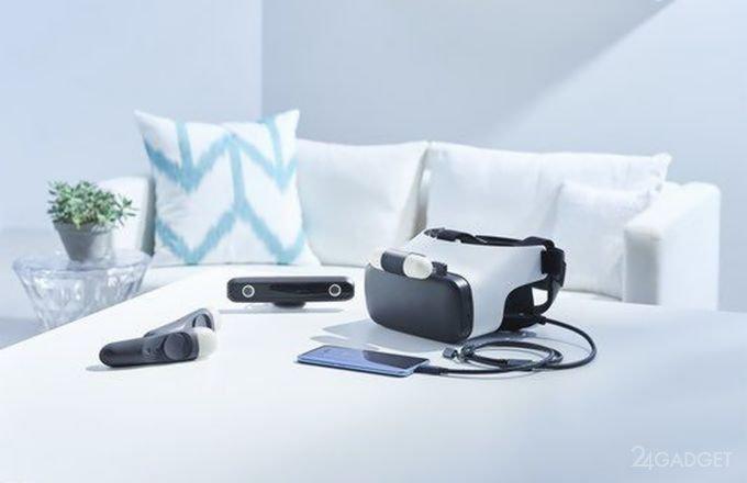 HTC Link — мобильный VR-шлем, аналогичный Samsung Gear VR (4 фото)