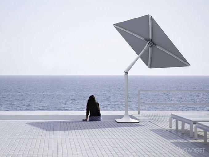 """Зонт Вам в помощь или """"умная"""" защита от солнца (2 видео)"""