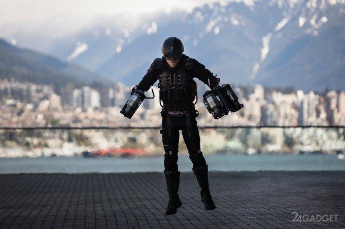 """Костюм """"Железный человек"""" показали в действии на конференции TED (3 фото + видео)"""