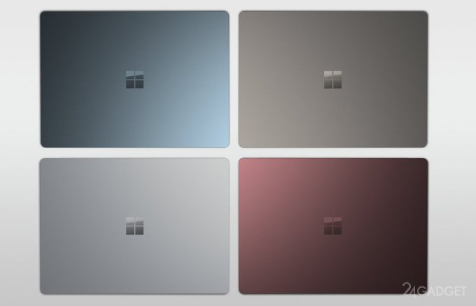 Microsoft Surface Laptop — первый ноутбук на Windows 10 S (31 фото + видео)