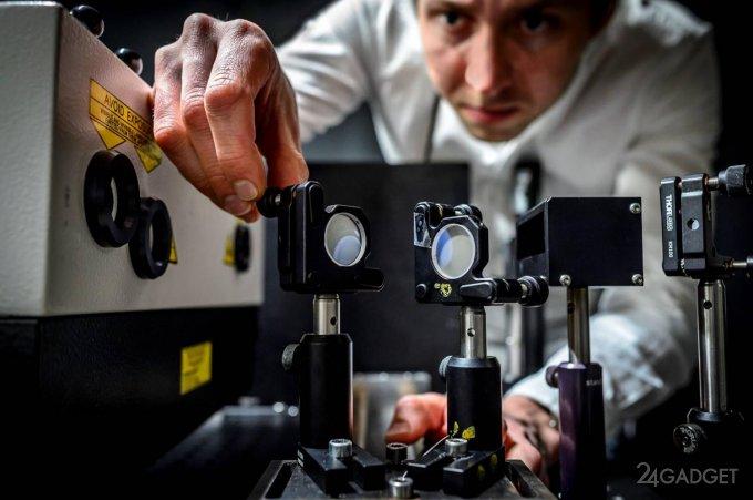 Самая быстрая в мире камера снимает со скоростью 5 трлн кадров в секунду (3 фото + 2 видео)