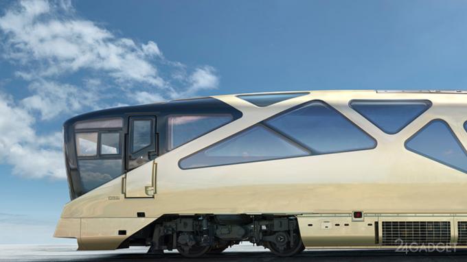 Экскурсионно-круизный элитный поезд Shiki-Shima (29 фото)