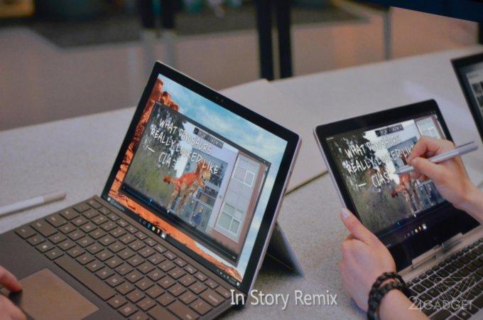 Microsoft выпустил приложение для видеомонтажа Story Remix (3 фото + видео)