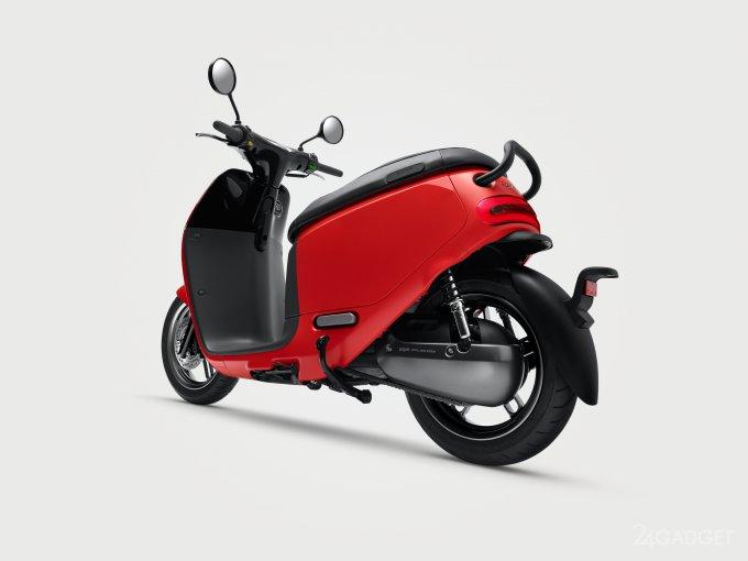 Gogoro 2 Smartscooter - стильный электроскутер за $1300 (9 фото + видео)