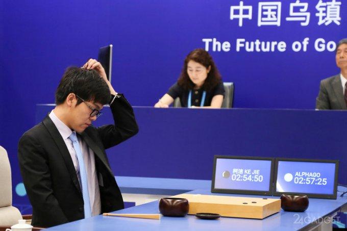 Программа AlphaGo срезультатом 3-0 обыграла сильнейшего игрока вго