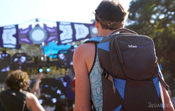 Подарок рокерам — рюкзак с секретом (2 фото + видео)