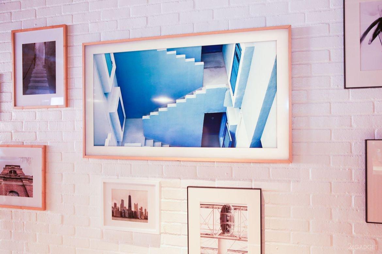 Интерьерный телевизор Samsung Frame TV (32 фото + видео)