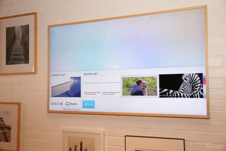 interior samsung tv frame tv 32 photos video gadgets f. Black Bedroom Furniture Sets. Home Design Ideas