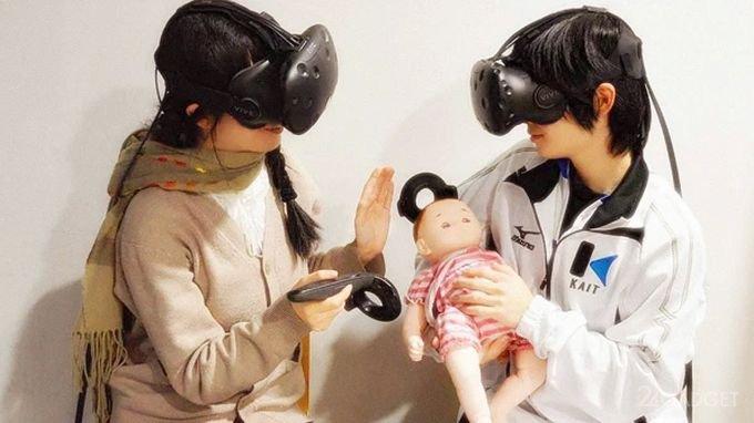 Новое VR-приложение научит быть родителями (6 фото + видео)