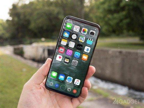 Появился первый клон iPhone 8