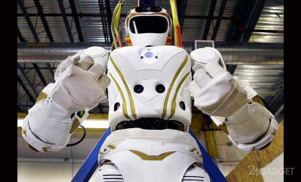 Человекоподобный робот, разработанный в NASA, показал свои возможности (видео)