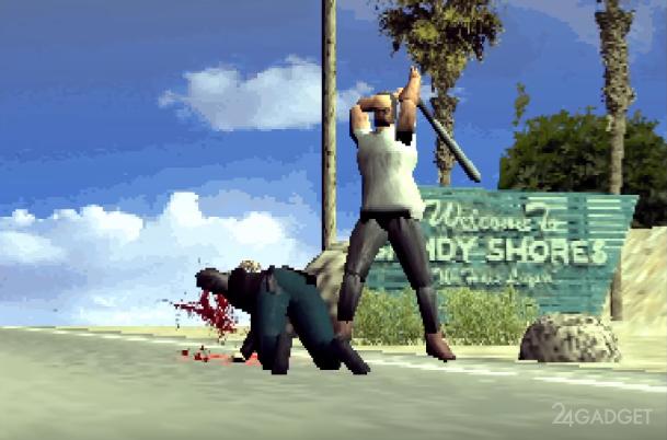 Видеоблогер продемонстрировал как современные игры выглядели бы на первой PlayStation (4 видео)