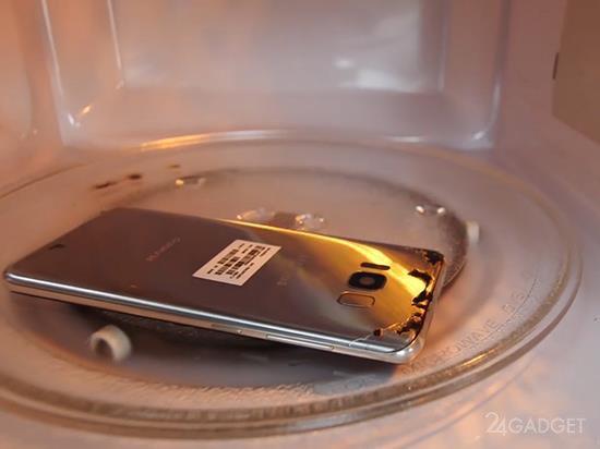 Смартфоны прошли испытания в микроволновой печи - пережил тест только iPhone 7 (2 фото + видео)