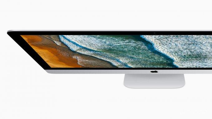 Презентация обновленных MacBook, iMac и нового iMac Pro (20 фото)