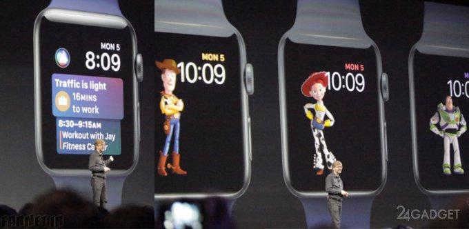 Обновление для смарт-часов Apple выпустят осенью