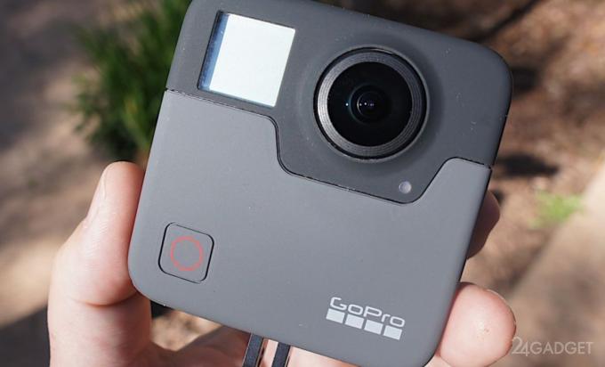 Появились изображения сферической 5K камеры GoPro Fusion
