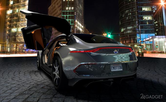 Элитный электромобиль Fisker EMotion будет стоить 129 000 долларов