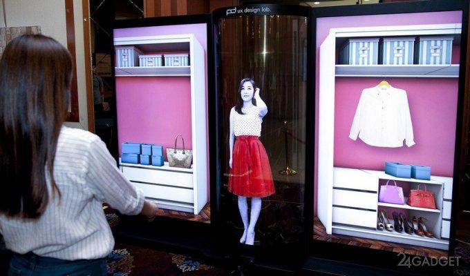 LG представила прозрачный OLED-дисплей с диагональю 77 дюймов (2 фото)