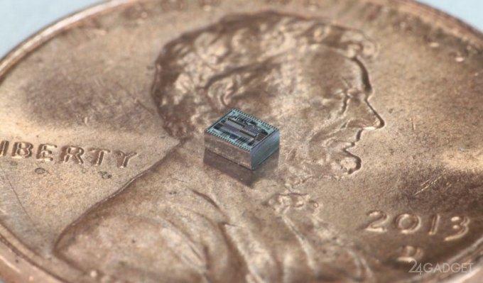Ученые создали плоскую камеру без объектива (2 фото + видео)