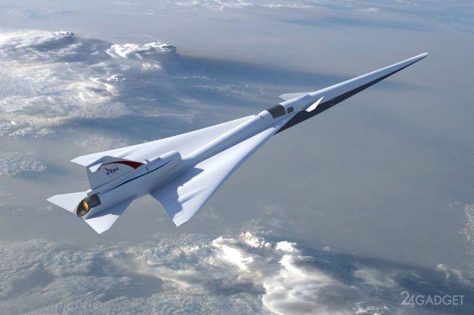 NASA разработает сверхзвуковое судно для гражданской авиации