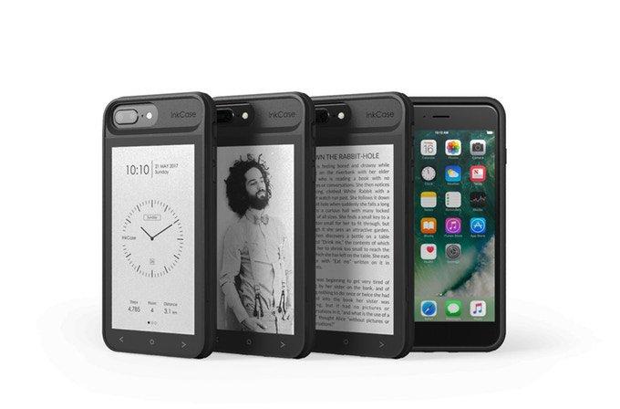 Чехол с E Ink-экраном для смартфона iPhone 7 Plus (9 фото + видео)