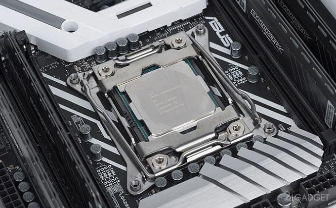Дорогой процессор Intel Core i9-7900X нуждается в дополнительном охлаждении (3 фото)