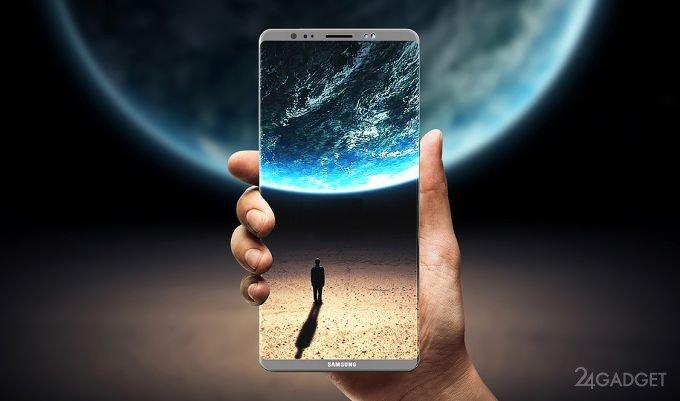 Продавать Samsung Galaxy Note 8 начнут с сентября (2 фото)