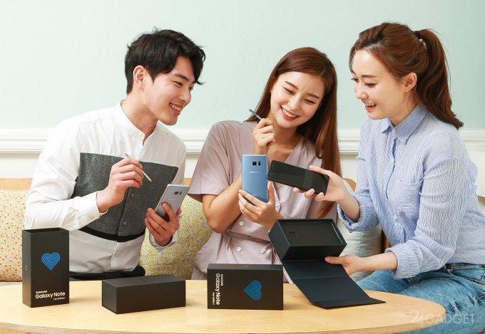 Samsung Galaxy Note FE — восставший из пепла Galaxy Note 7 (8 фото)