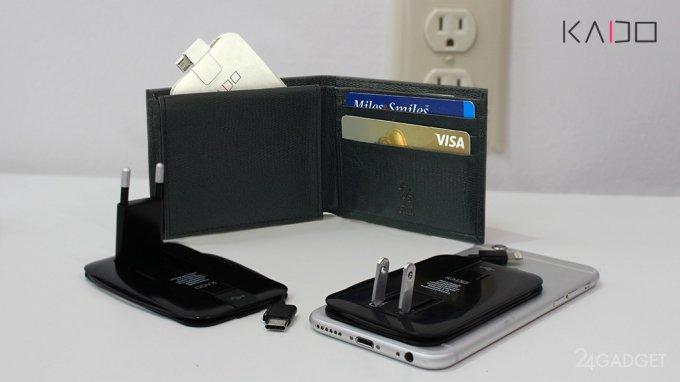 Зарядный блок для смартфона от Kado признан самым тонким (6 фото + видео)