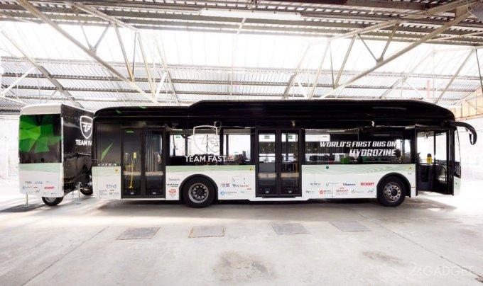 Голландские автобусы Hydrozine будут ездить на муравьиной кислоте (4 фото)