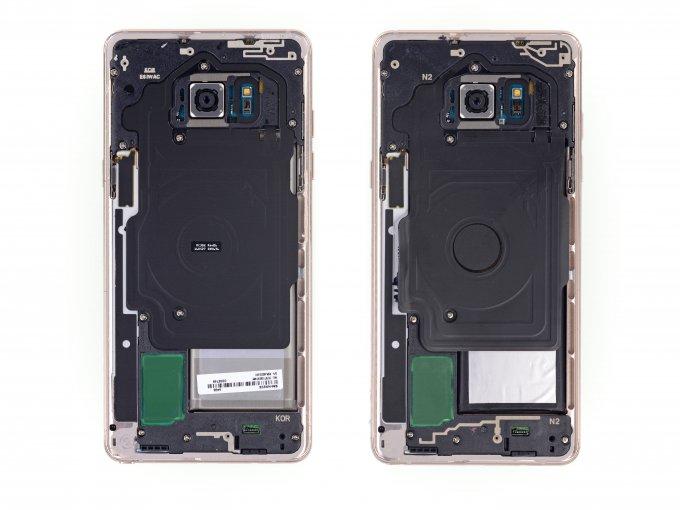 Смартфон Galaxy Note Fan Edition попал в руки мастеров iFixit (7 фото + видео)