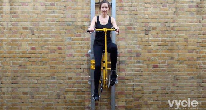 Велосипедный лифт Vycle (3 фото + видео)