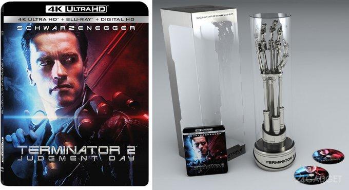 «Терминатор 2» выйдет в коллекционной версии в формате 4K Ultra HD и с роборукой от T-800 (2 видео)