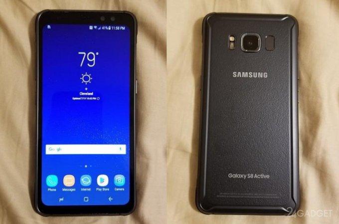 Первые фото и видео защищенного Samsung Galaxy S8 Active (8 фото + видео)