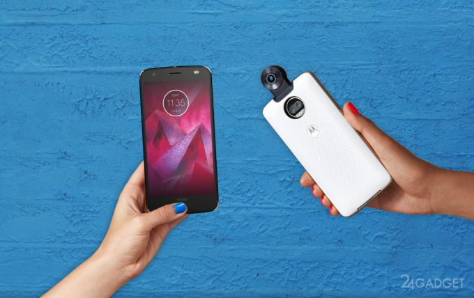 Motorola Moto Z2 Force — небьющийся экран и двойная камера (14 фото + видео)