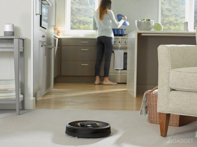 Робот-пылесос Roomba превратится в шпионящего помощника (2 фото)