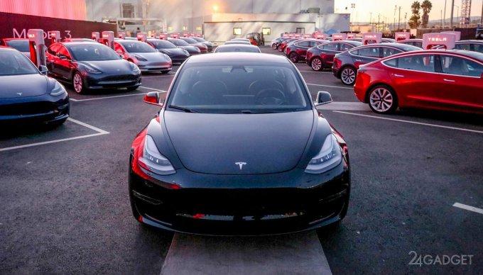 Стартовало серийное производство Tesla Model 3 (9 фото + видео)