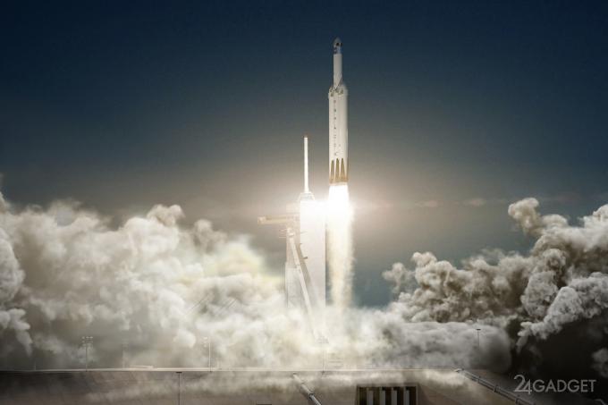 Запуск сверхтяжелой Falcon Heavy обещают провести в ноябре